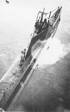 Top view of the Soviet submarine M-55. by tormentor4555, via Flickr