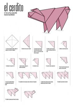 Origami for Everyone – From Beginner to Advanced – DIY Fan Instruções Origami, Star Wars Origami, Origami Paper Folding, Origami Mouse, Origami Yoda, Origami Dragon, Origami Fish, Paper Crafts Origami, Origami Design