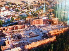 LEBANON, BEKAA, BAALBECK, LARGEST ROMAN RUINS IN THE WORLD, A MUST..