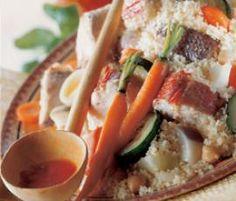 Recette Couscous de poisson par thermomix - recette de la catégorie Poissons