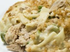 Tuna Noodle Casserole With Cream Cheese....No canned soup