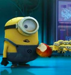 A fun game with the Minions language. Cute Minions, Minions Despicable Me, Minion Humor, Funny Minion, Minions Language, Minion Classroom, Yellow Guy, Minion Mayhem, 2 Movie