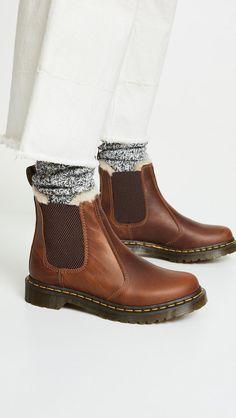 Dr. Martens Leonore Sherpa Chelsea Boots   SHOPBOP #DocMartensstyle