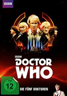 Doctor Who - 5 Doctors (actual 4 + a cameo) Peter Davison, Jon Pertwee, Lalla Ward, Doctor Who 12, William Hartnell, Dvd Film, Classic Series, Dvd Blu Ray, Dr Who