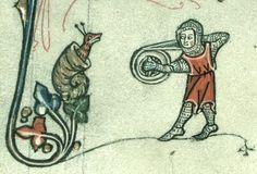 Knight vs Snail, 14 cent.