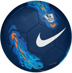 Nike Luma Premier League Soccer Ball - Blue/Orange