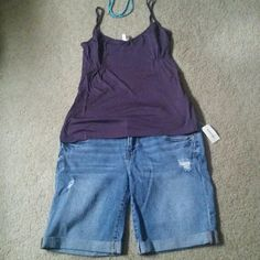 Fabletics Sweet Pea cami Its BNWT A little darker purple color.  This cami is more loose fitting, and can wear with jeans, shorts, legging, and whatever you want. Its adorable,  you can dress it up. Does not have bra support  Fits size 2 to a 10. Its a medium size. Fabletics  Tops Camisoles