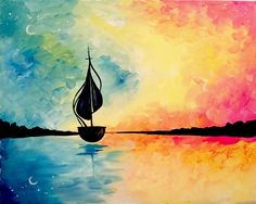 Paint Nite - And Straight on till Morning
