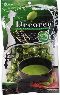 Decorer Premium Matcha Tiramisu Chocolate $4.80 http://thingsfromjapan.net/decorer-premium-matcha-tiramisu-chocolate/ #Japanese chocolate #green tea chocolate #Japanese snack