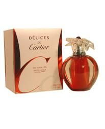 Buy Delices de Cartier 3.3 oz EDT Spray for Women by Cartier from Scentiments.com at highly discounted prices. Find all your favorite Delices de Cartier Perfume for Women by Cartier