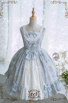 CEL Lolita Studio -The Laurel Garden- Classic Lolita Jumper Dress