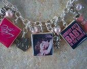 dirty dancing charm bracelet by islandgirlzjewelry on etsy!