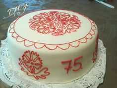 #TMJcreative #hungarianfolkart #birthdaycake