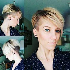 11-Short Asymmetrical Haircut