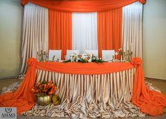 Оранжевая свадьба, осенняя - Свадьбы - Сообщество декораторов текстилем и флористов