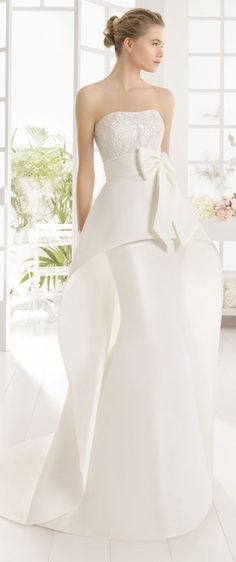Aire Barcelona 2016 Wedding Dress