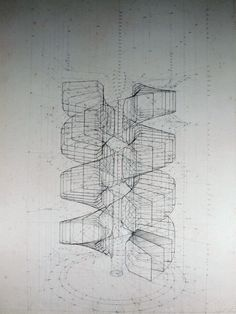 Wildly Detailed Drawings That Combine Math and Butterflies | A look at a drawing in its early stages.  Rafael Araujo  | WIRED.com
