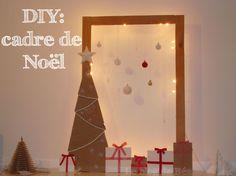 Fabriquer un cadre de Noël