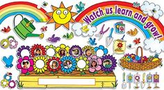OBlock Books  - Our Class In Bloom Bulletin Board Set, $11.99 (http://store.oblockbooks.com/our-class-in-bloom-bulletin-board-set/)