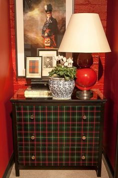 Scot Meacham Wood's new studio reflects his love of ancestral tartans. It was a perfect storm and a checkered past that brought things into focus for interior designer Scot...