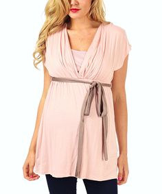 Look at this PinkBlush Maternity Light Pink
