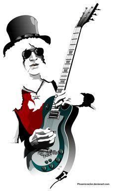Guitar Legend || Leyenda de la #Guitarra || #Slash
