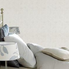 Textile sur intissé HAUTE COUTURE coloris blanc