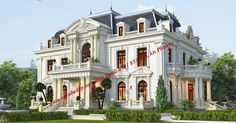 Bungalow House Design, Modern House Design, Chatsworth House, Castle House, House Layouts, Classic House, House Front, Exterior Design, Beautiful Homes