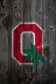 Ohio State Buckeyes Alternate Logo Wood iPhone 4 Backgroun… | Flickr