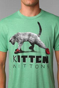 It's Always Sunny In Philadelphia Kitten Mittons Tee  #UrbanOutfitters