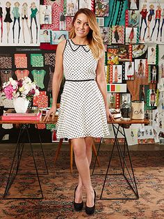 So much my style, I even got the dress!!! Lauren Conrad polka dot Redbook,