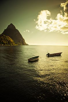 St Lucia.I want to go here one day.Please check out my website thanks. www.photopix.co.nz