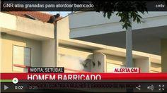 Um homem disparou contra a companheira, nesta terça-feira, suicidando-se, na Moita, distrito de Setúbal. Após várias horas de cerco à habitação, GNR atirou granadas, para controlar o barricado, num...