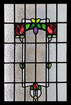 Art And Craft Jewelry Modern Stained Glass, Stained Glass Door, Stained Glass Flowers, Stained Glass Designs, Stained Glass Panels, Stained Glass Projects, Stained Glass Patterns, Leaded Glass, Mosaic Glass