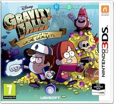 Gravity Falls Legend of The Gnome Gemulets 3DS CIA