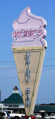 Kline's Dairy Bar Staunton, Virginia
