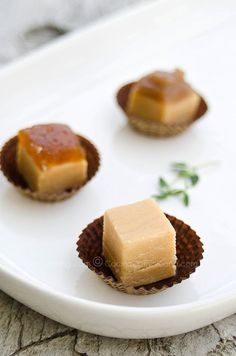 Dulce de leche en tabla (Milk fudge bars)
