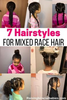 7 Protective Hairstyles For Biracial Hair Raising Biracial Babies In 2020 Biracial Hair Biracial Hair Care Protective Hairstyles