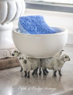 diy sheep decor from the toy store, crafts, home decor, repurposing upcycling