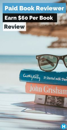 Love reading books? These companies will pay you to read and review them! www.howtoliveinth...