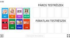 Testrészek - Környezet 1. osztály FELADAT - Kalauzoló - Online tanulás Bar Chart, Bar Graphs