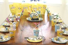 Minions Birthday Party Ideas | Photo 13 of 20 | Catch My Party