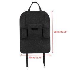 Favorable Universal Car Seat Back Storage Bag Multi-Pocket Hanging Holder Tidy Organizer Storage Shelves Bins - NewChic Mobile