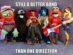 Still a better band than One Direction.