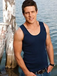 Stephen Peacocke ...aka Brax from Home and Away. Be still my beating heart.