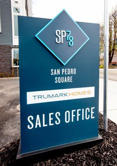 by Trumark Homes Signage 4 Sales Office, Signage, New Homes, San, Billboard, Signs