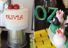 wizard of oz theme party photos | Wizard of Oz Guest Dessert Feature « SWEET DESIGNS – AMY ATLAS ...