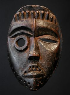 Masque : Afrique : asymétrique , Dan