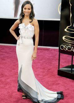 The 15 Best Bodies at the Oscars: Zoe Saldana