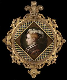 Edward VI, son of Henry VIII and Jane Seymour, about age 8